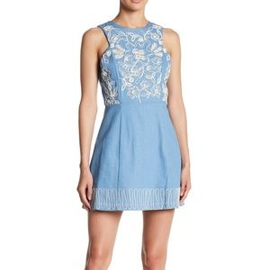 NWT Anthropologie Moon River Embroidered Dress